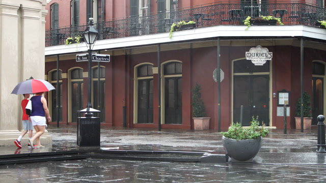 In New Orleans, Barry brings rain. But also relief