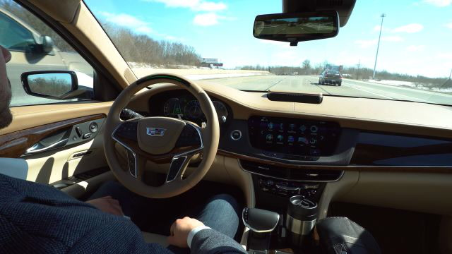 Cadillac Challenges Tesla with a Super Smart Self-Driving Sedan