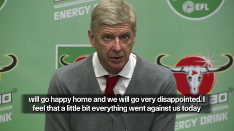 Wenger admits Arsenal caused their own downfall against Manchester City