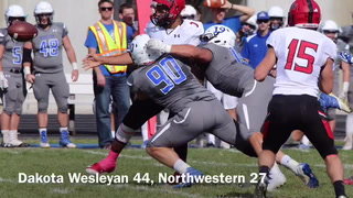 VIDEO: Dakota Wesleyan vs. Northwestern College highlights