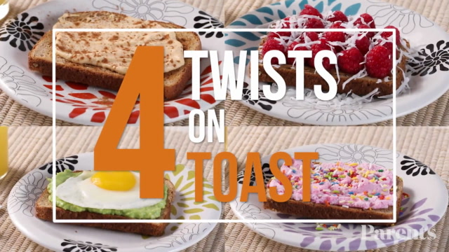 4 Easy Twists on Toast