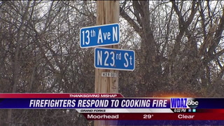 Firefighters warn locals about Thanksgiving oven fires