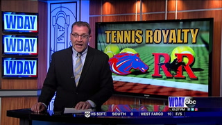 Sheyenne gets past Red River tennis for EDC title