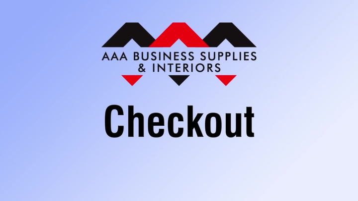 Checkout  on shop.AAAsolutions.com