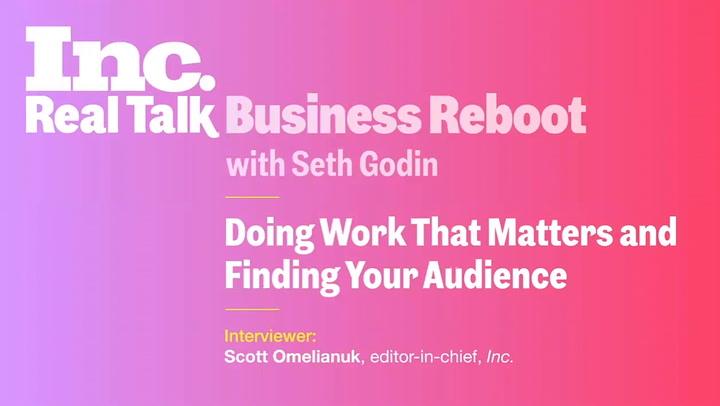 Seth Godin Wants You to Act Like a Human