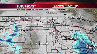 Light Snow Moving Out