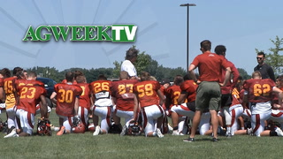 AgweekTV: Athletes 'Beef Up' (Full Show)