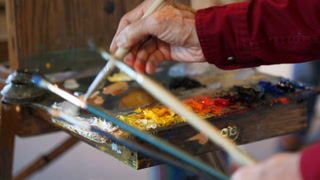 Artists bring easels, creative process to Duluth Art Institute