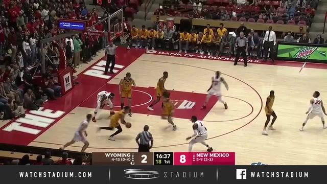 Wyoming vs. New Mexico Basketball Highlights (2018-19)