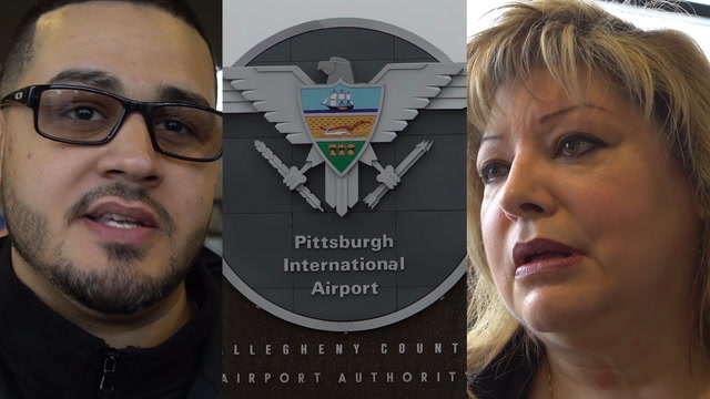 'Morale is at an all-time low': Unpaid Pittsburgh TSA workers demand end to shutdown