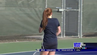 Sheyenne tennis shuts out North