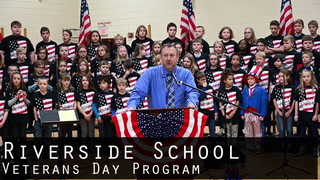 Riverside School Veterans Day Program