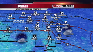 StormTRACKER Forecast Monday Overnight