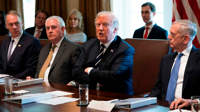 Trump says 'total termination' of Iran deal is 'very real possibility'