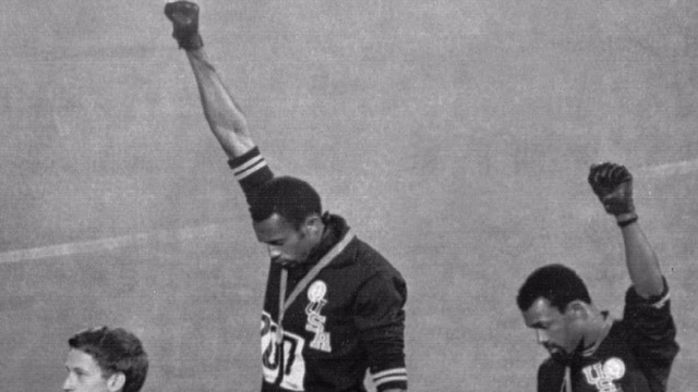 How a black power salute at the 1968 Olympics changed two men's lives
