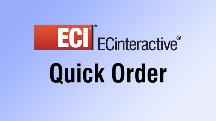Quick Order accelerates online shopping on your Dealer Web Store
