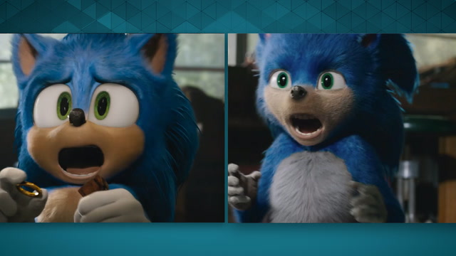 Sonic the Hedgehog's new look has the internet breathing a sigh of relief