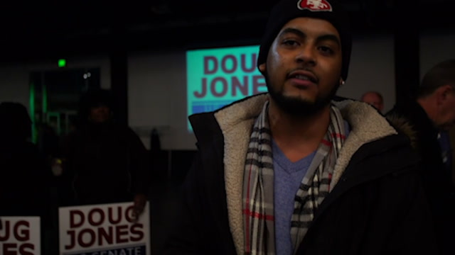 Minorities and young people rally behind Doug Jones