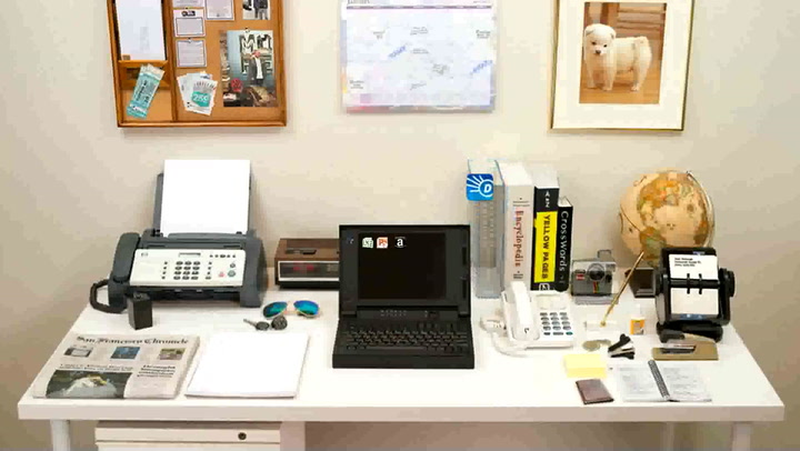 How Your Desk Has Evolved Over The Past 35 Years