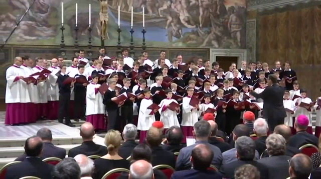 Pope's Choir Prepares for Visit to the US