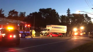 Crash on London Road in Duluth
