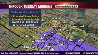 Tracking More Snow Tonight