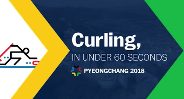 Curling, in under 60 seconds
