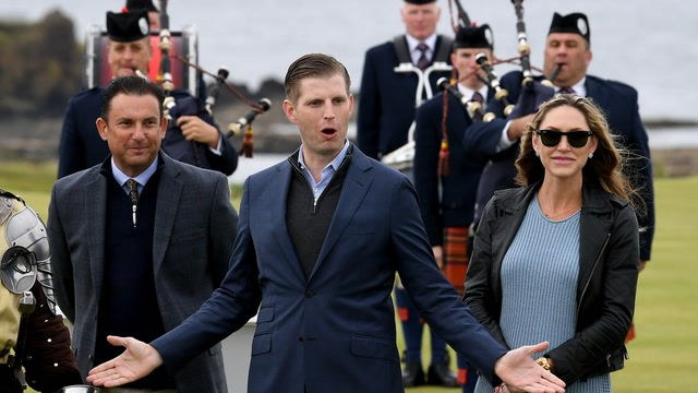 Eric Trump: 'We made Turnberry great again