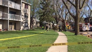Firefighters respond to apartment fire Tuesday in Willmar