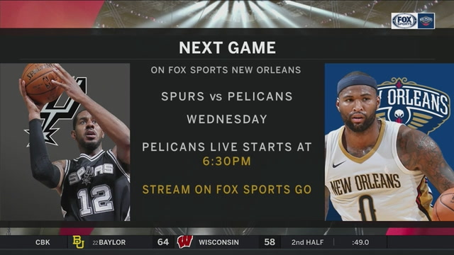 San Antonio Spurs vs. New Orleans Pelicans preview | Pelicans Live