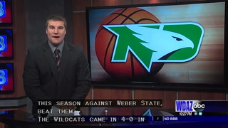 UND basketball sweeps Weber State