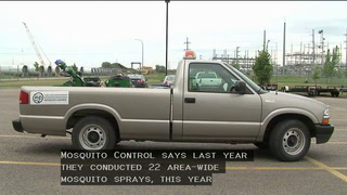 Fewer mosquitoes means more money in reserve fund