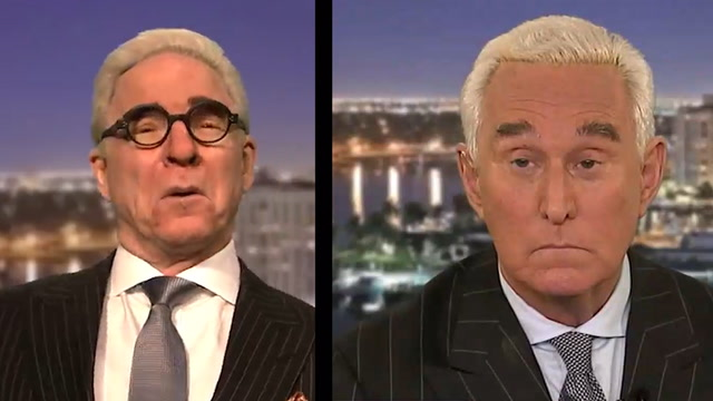 Steve Martin takes on Roger Stone in 'SNL' cold open