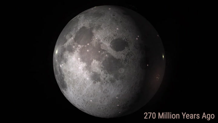 Video Shows More and More Asteroids Smashing Into the Moon as Time Goes By