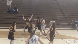 Grand Forks Central against Fargo South Girls basketball
