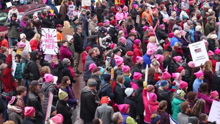 Hundreds take part in Twin Ports Women's March