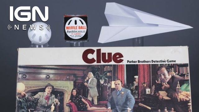 Clue, Wiffle Ball, Paper Airplanes Enter Toy Hall of Fame - IGN News