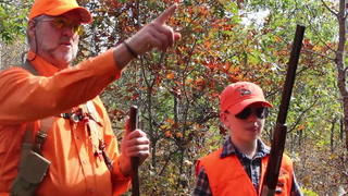 A mentored grouse and woodcock hunt in Wisconsin