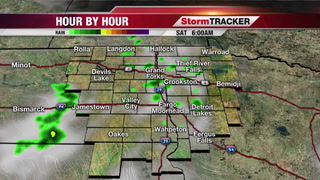 StormTRACKER Weather Webcast Friday Overnight
