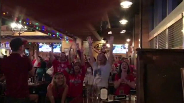 Raw: DC Fans Cheer as Capitals Win Stanley Cup