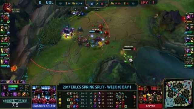 EULCS W10 D1 - 1 for 1 top lane trade