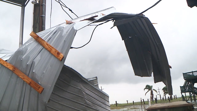 'Just a big old mess': Along the Louisiana coast, cleaning up after Barry