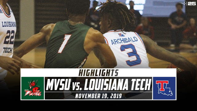 Mississippi Valley State vs. Louisiana Tech Basketball Highlights (2019-20)
