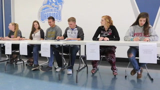 BHS Students Sign Letters of Intent