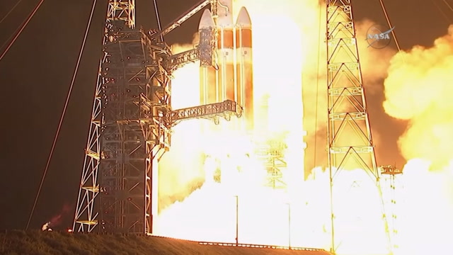 Lift off in NASA's mission to 'touch the sun'