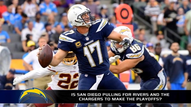 Is San Diego pulling for Philip Rivers and the Chargers again?