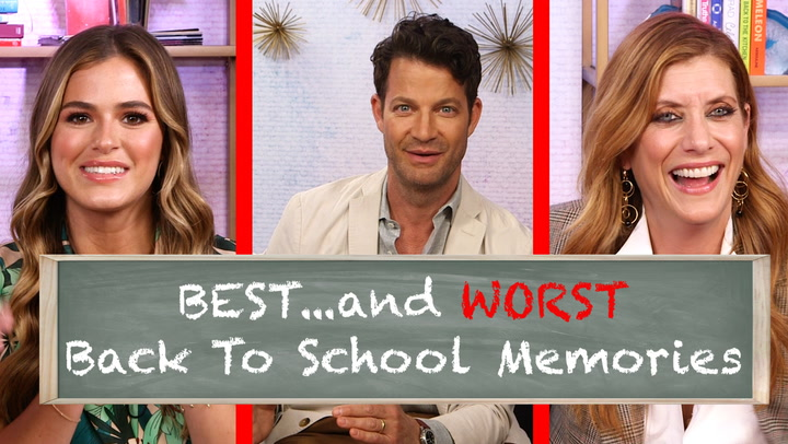 Kate Walsh, Derek Hough and More Celebs Share Their Hilarious Back-to-School Memories – Watch