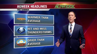 AgweekTV: Agri-weather forecast with Aaron White