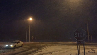 First winter storm of the season in Northland