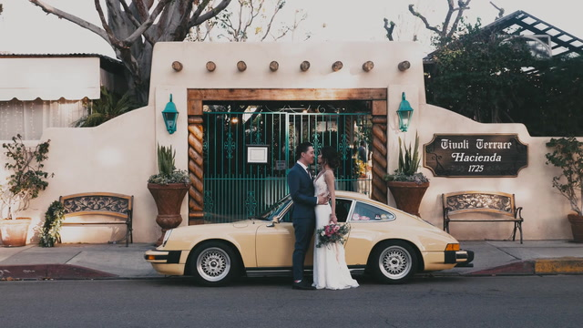 Paula + Chad | Santa Ana , California | The Hacienda